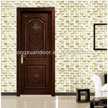 Diseños de la puerta de madera de la mejor venta con diseños del arte y de la flor