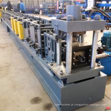 China fabricante completo automático prateleiras de armazenamento rack pilar feixe produção vertical rolo formando linha