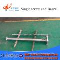 Tungsten carbide single screws barrels for polyethylene film blowing extruder