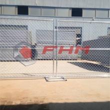 Cerca Chain galvanizada que cerca a cerca provisória para a proteção