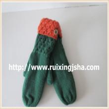 Оптовая Зимние ручной вязки перчатки