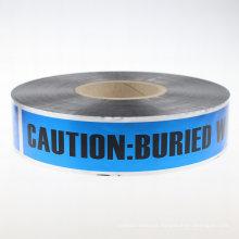 Folha de alumínio Underground Detctectable Tape