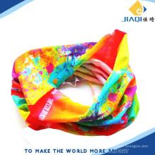 Seamless Style Bandanna Headwear Écharpe Wrap