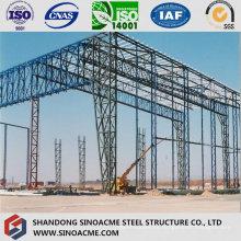 Estructura de columna de celosía de gran altura para Peb Warehouse