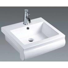 Bassin de comptoir en céramique de salle de lavage au Moyen-Orient (7104)
