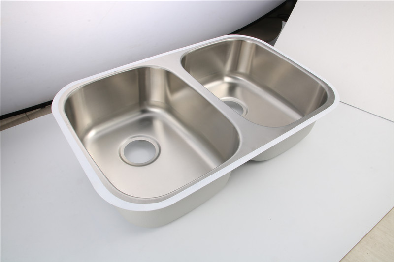 Undermount Double Bowl Sink للمطبخ