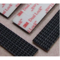 Self Adhesive Magic Tape Black Dual Lock Tape