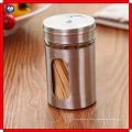 Edelstahl / Glas Gewürzdosen Barbecue Sauce Flasche