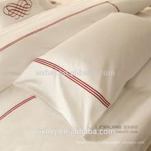 Taie d'oreiller taie d'oreiller brodée à la main pour la maison d'hôtel