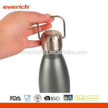 Colorful Spray Paint Double Wall Stainless Steel 27oz Cola Shaped Water Bottle With Portable Lid