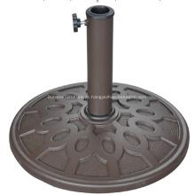 Pátio pequen barato redonda Base de guarda-chuva 8KGS