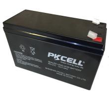 Bateria de chumbo-ácido selada 12V 7Ah para UPS, AGM, back-up de energia e outros equipamentos de iluminação