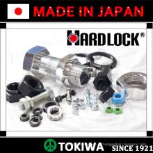 Parafuso e porca confiável Hardlock & Trusco com excelente efeito seguro. Feito no Japão (parafuso com porca)