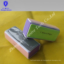 Beauty Nail File mit 4 Seitenschleifmitteln zum Polieren von Nägeln