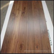 Suelos de madera de nogal americano sólido
