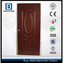 Mahagoni Holz Interieur MDF PVC-Tür