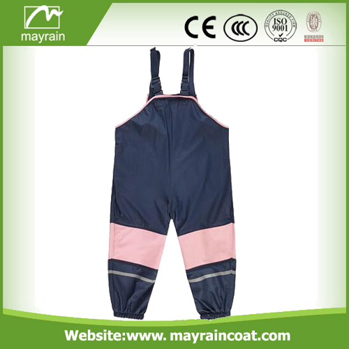 Waterproof Customized Pink Rainsuit