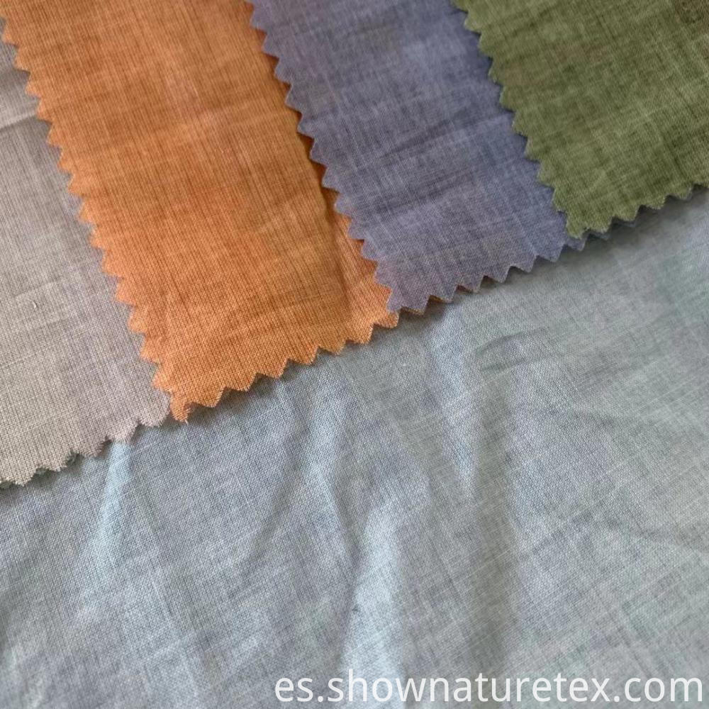 Cool Feeling Cotton Coated Fabric