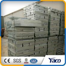 Piso de escada de aço carbono Yachao 325/30/100 400x1000mm