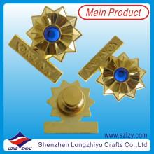Phantasie Gravierte Gold Souvenir Revers Abzeichen Pin (LZY-10000244)