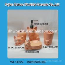 Juego de baño de cerámica al por mayor de alta calidad