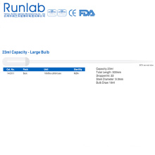 23ml Capacity Large Bulb Transfer Pipettes