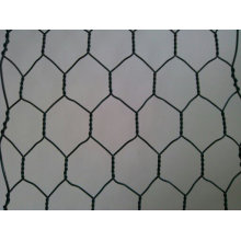 Rede de fio sextavada galvanizada / rede de arame sextavada / rede de arame da galinha