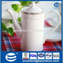 Белый фарфоровый чайник оптом