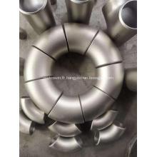 Coude 90d Lr en acier inoxydable ASTM A403 Wp304h