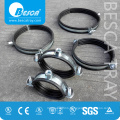 Professional Hanging Clamp Pipe Clamp With Rubber