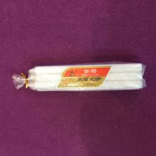 Weihnachten Daily Lighting Unscented Stick White Candles