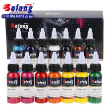 Solong Makeup Best Shader Tattoo Ink TI302-30-14 Organic Pigmentstattoo ink set