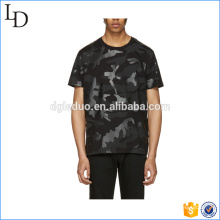 O-neck army printed short sleeve camouflage military t-shirt for men