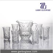 Ensemble de boisson à eau en verre 7PCS GB12026tyz