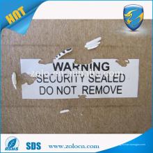 OEM Etiqueta de viscosidade forte adesivos de alta qualidade vinil adesivos de casca de ovo, etiqueta de casca de ovo de graffiti para contra-falsificação
