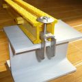 Grampos de FRP / GRP, encaixes da fibra de vidro, grampos de grating