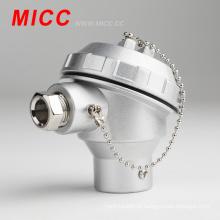 Cabeçote termopar KNC / bornes de 2 pólos