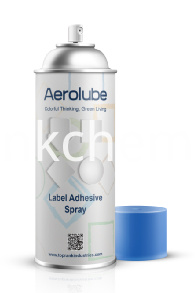 Label Adhesive Spray