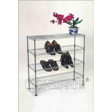 4 Layers Iron DIY Household Shoe Rack Organizer (CJ-C1120)