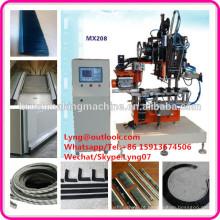 2 eixos de Alta velocidade escova de máquina CNC escova automática / tira Cnc escova que faz a máquina / máquina de perfuração e tufting escova de tiras