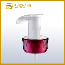 Cosmetic lotion pump for glass bottle