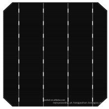 novas 6 * 6 células solares do painel solar 5BB da eficiência elevada mono 5w