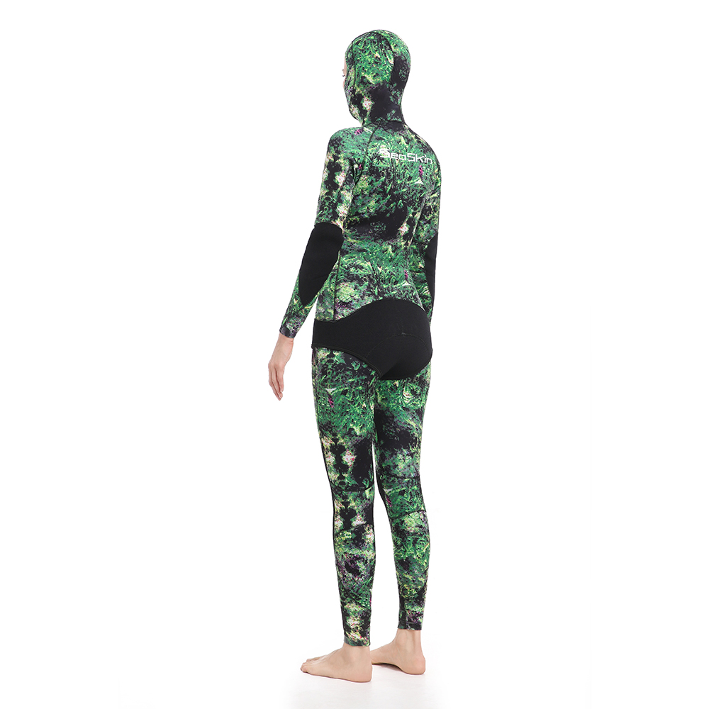 Women's Two Pieces Spearfishing Wetsuit