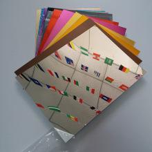 Feuille ACP de finition miroir pour les matériaux de revêtement de bâtiment
