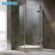 Seawin Bathroom Room Accessories Door Frameless Frosted Tempered Glass Shower Cabin