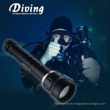CREE XM-L2 U2 Unterwasseratemgerät Unterwasser 2 * 18650 Batterie Fotografie Unterwasser Licht Box Fotografie
