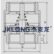 J5003-1 Valve de retenue à ressort en laiton Valve de retenue à ressort