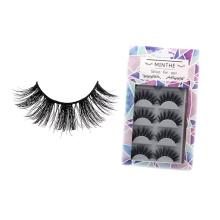 29 Hitomi custom logo print eyelash box mink eyelashes Fluffy real cheap price strip mink eyelashes with custom logo
