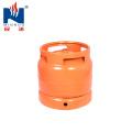6kg Stahl LPG Gasflasche, Gastank