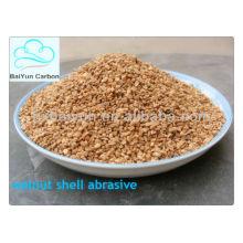 cáscara de nuez seca para filtración de agua / abarsive / pulido